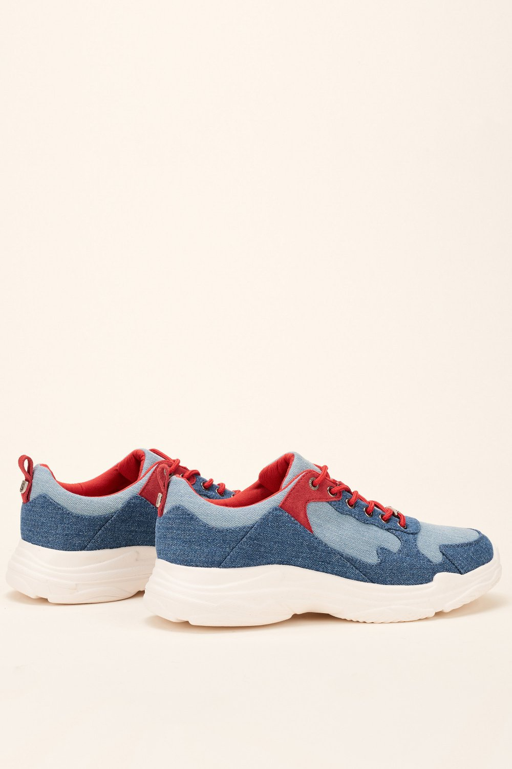 Sporty denim trainer - Salsa
