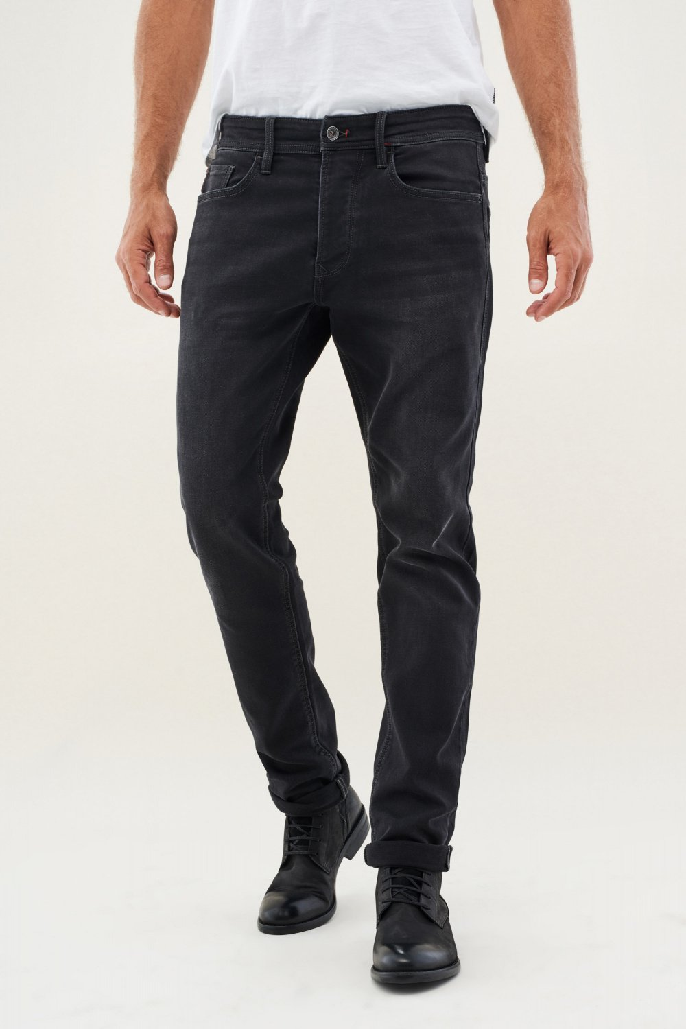 Jeans Lima, Tapered, Stoffhose - Salsa