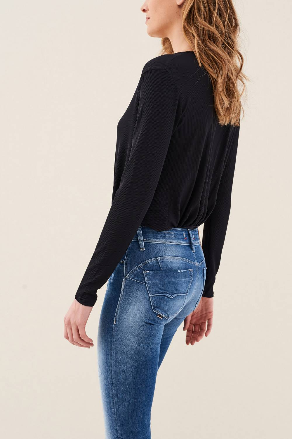 Body jumper with lace detail - Salsa