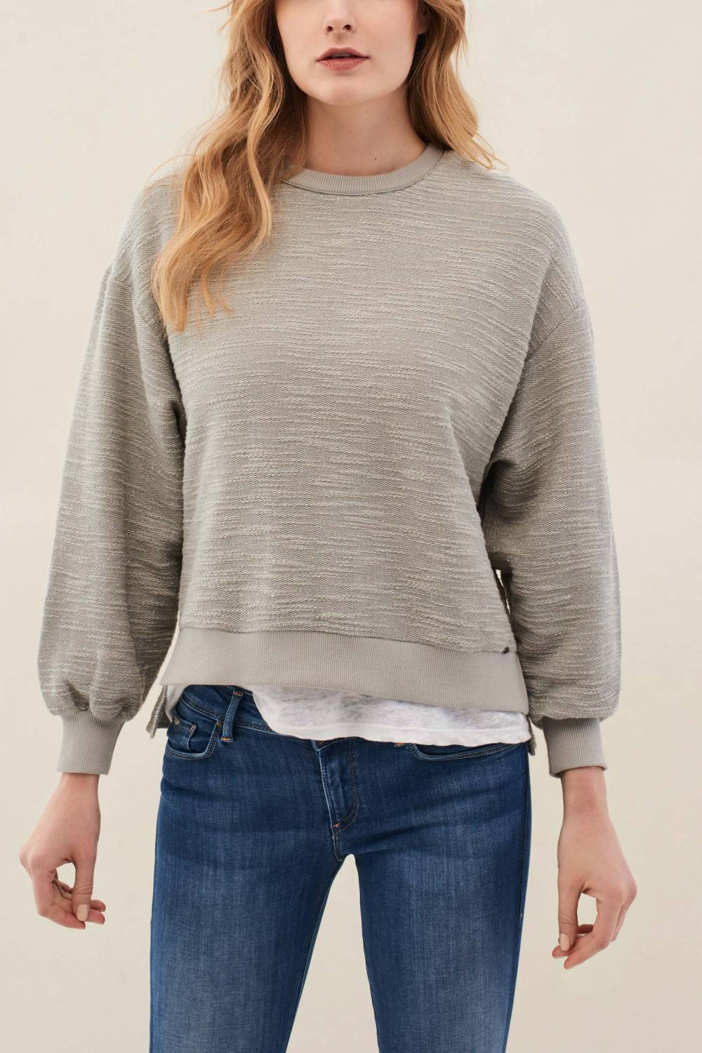 Textured knit sweater - Salsa