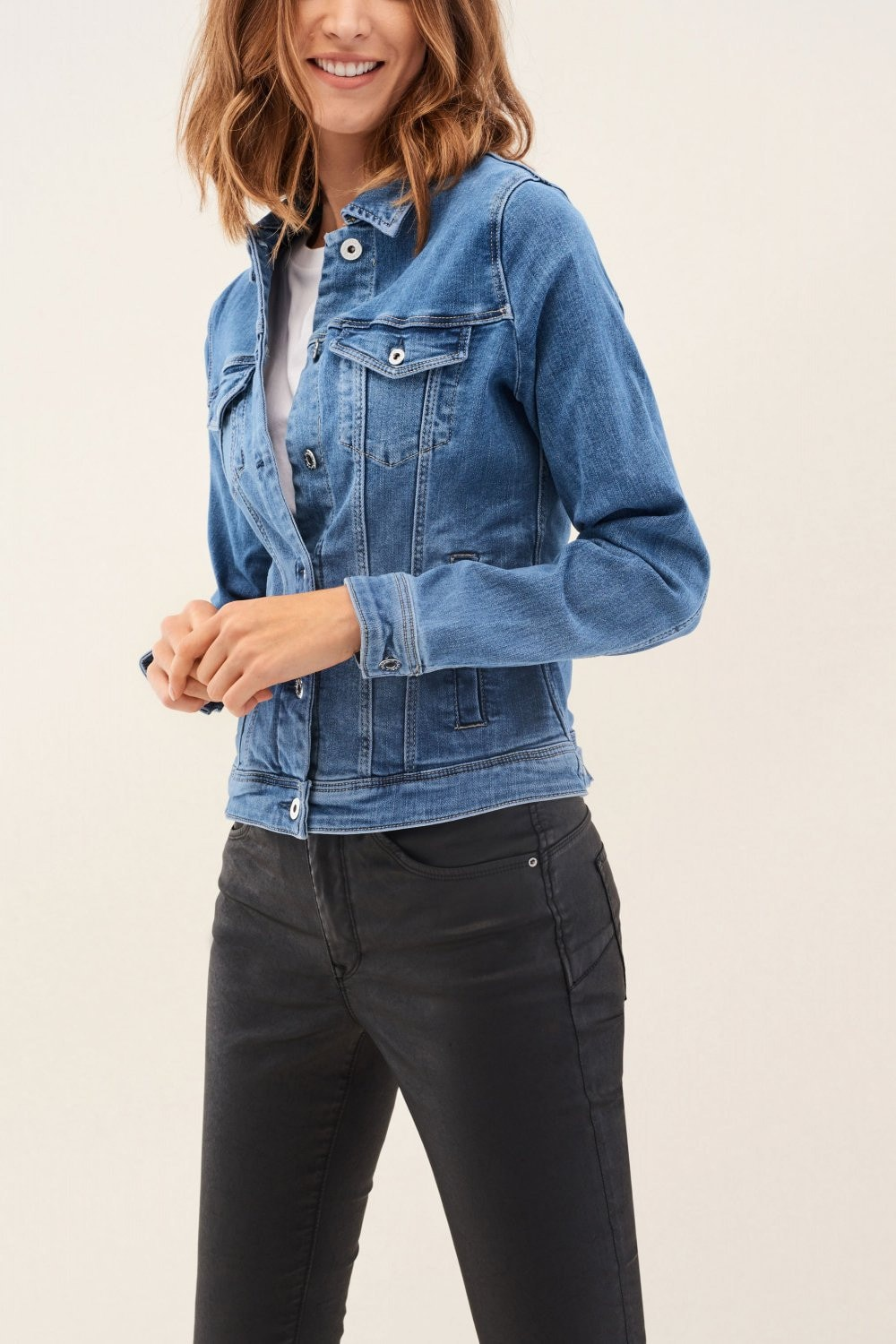 Slim fit denim jacket - Salsa