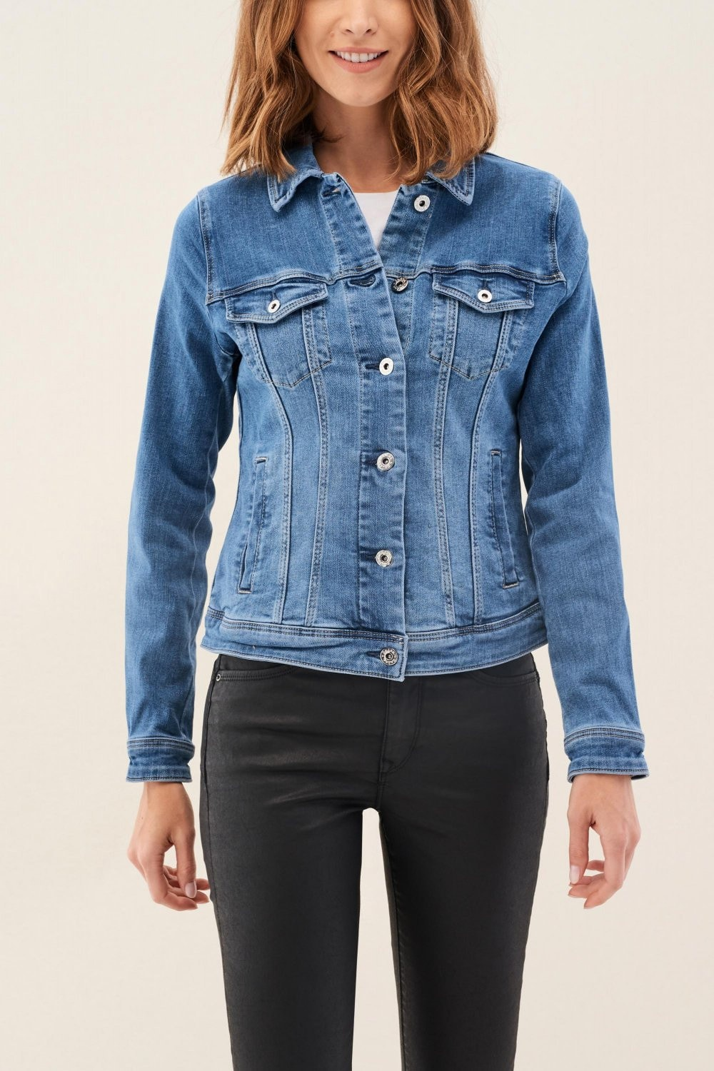 Giacca Fit slim in denim - Salsa