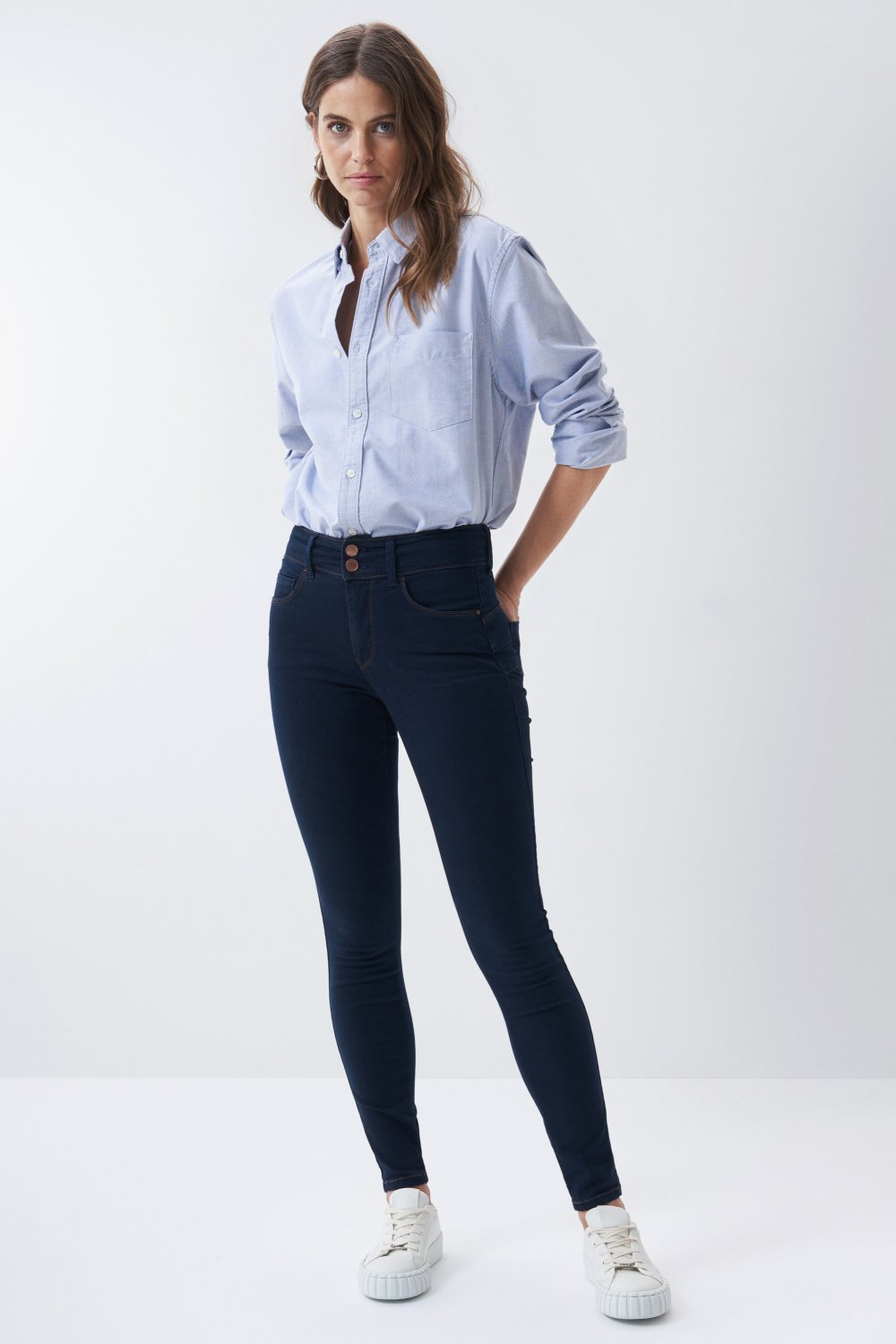 Jeans secret push in skinny desencolado - Salsa