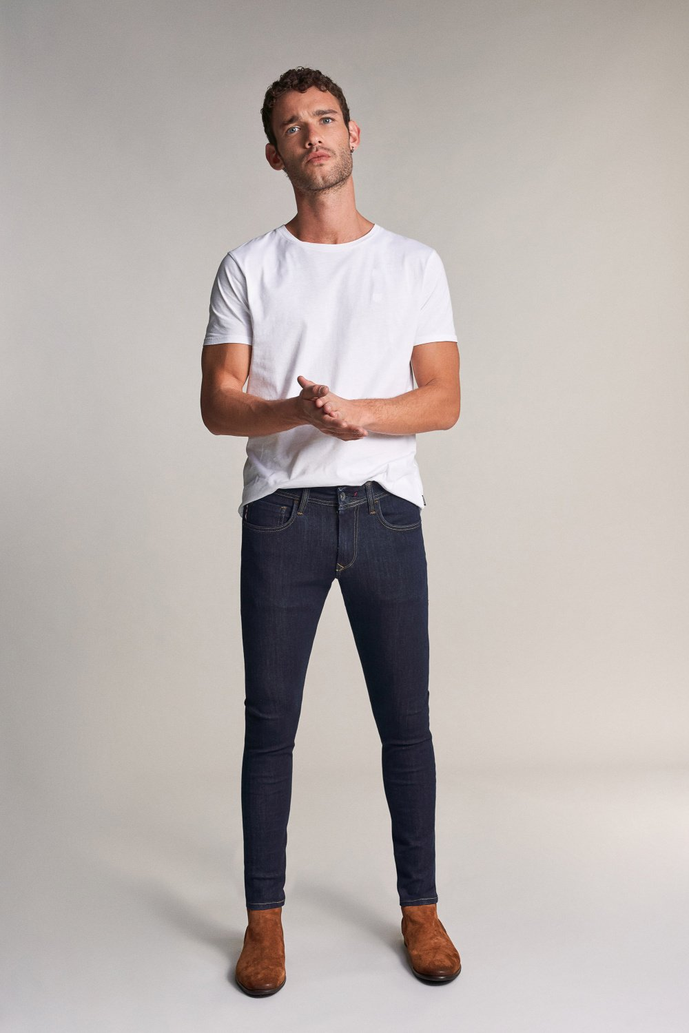 Kurt super skinny slim fit jeans - Salsa