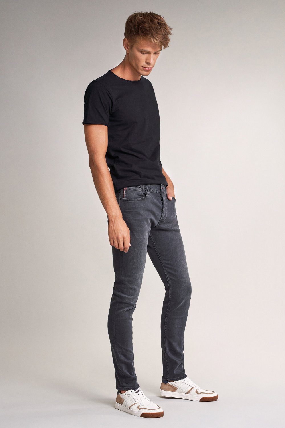 Jeans Slender, Slim Fit Carrot - Salsa