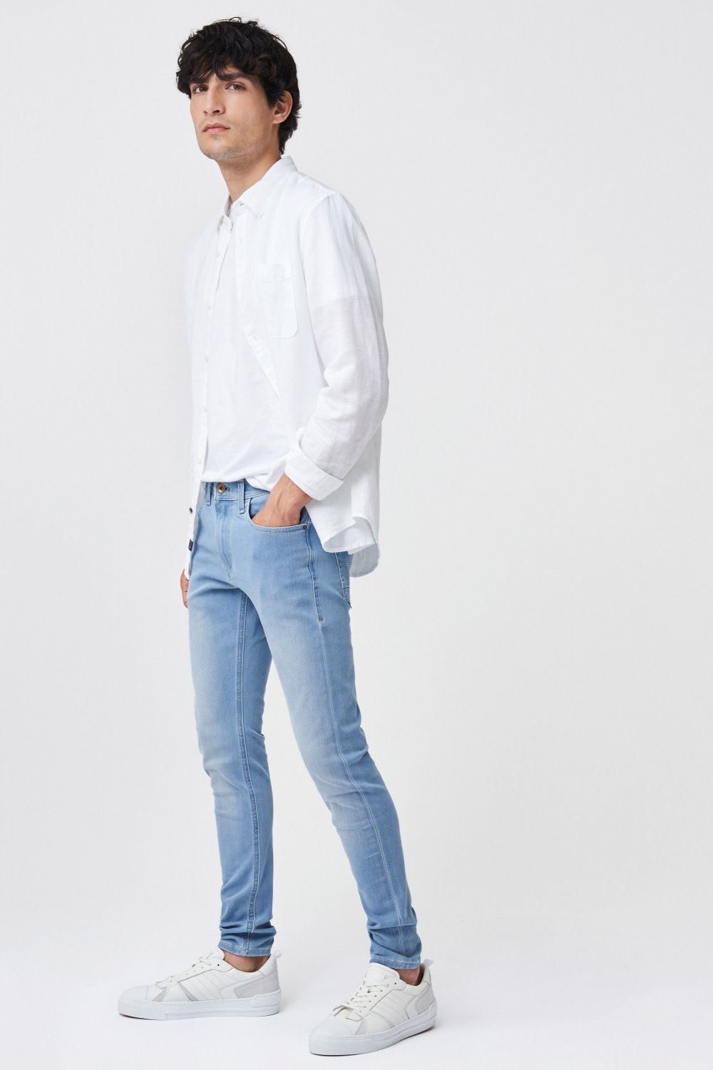 Kurt super skinny light jeans - Salsa
