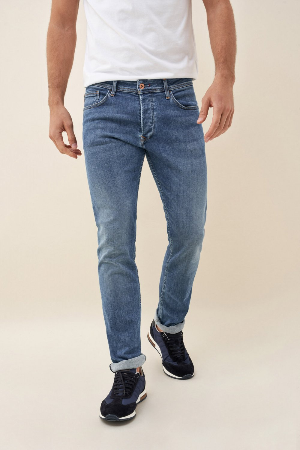 Jeans Lima, Tapered, Rip-Proof - Salsa