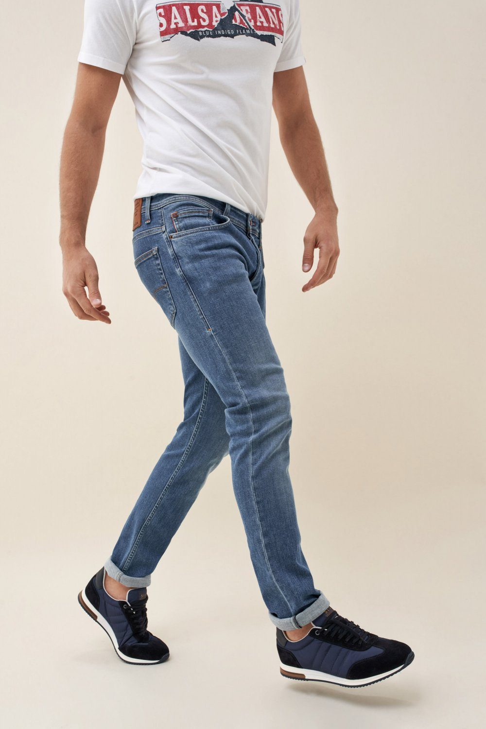 Jeans Lima tapered rip proof - Salsa