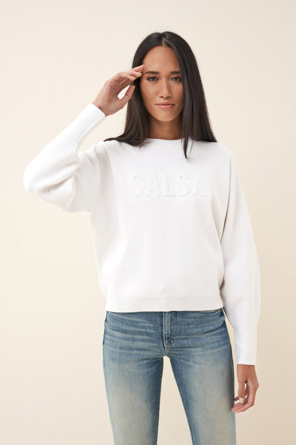 Sweater with logo - Salsa