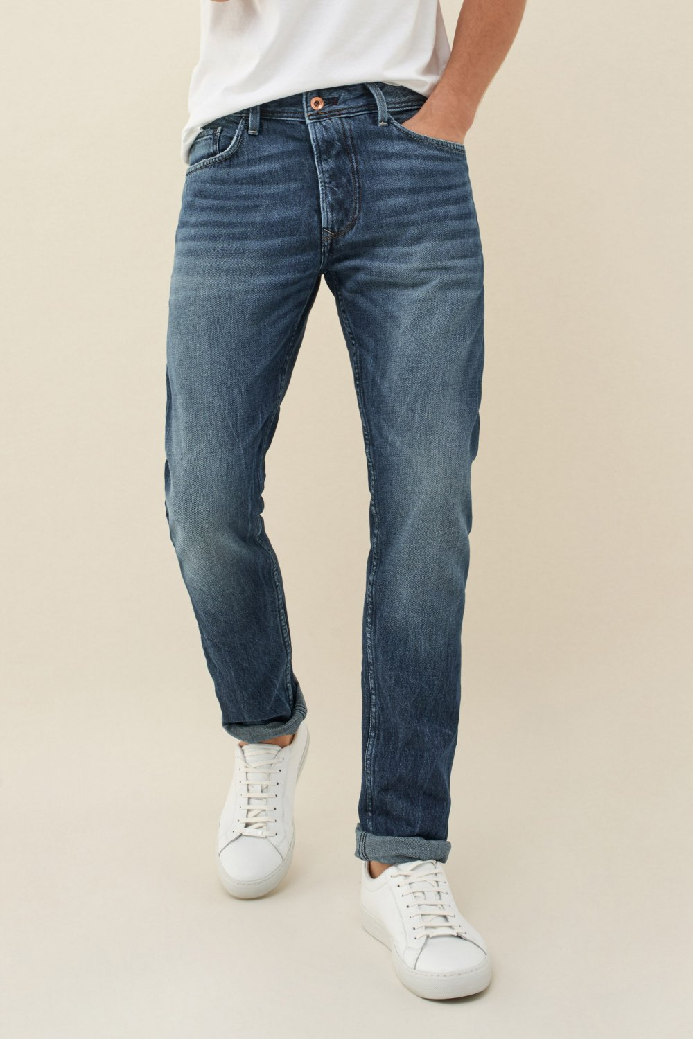 Jeans lima tapered premiun wash - Salsa