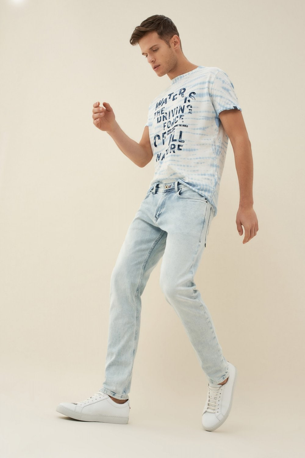 Jeans andy slim bleach - Salsa