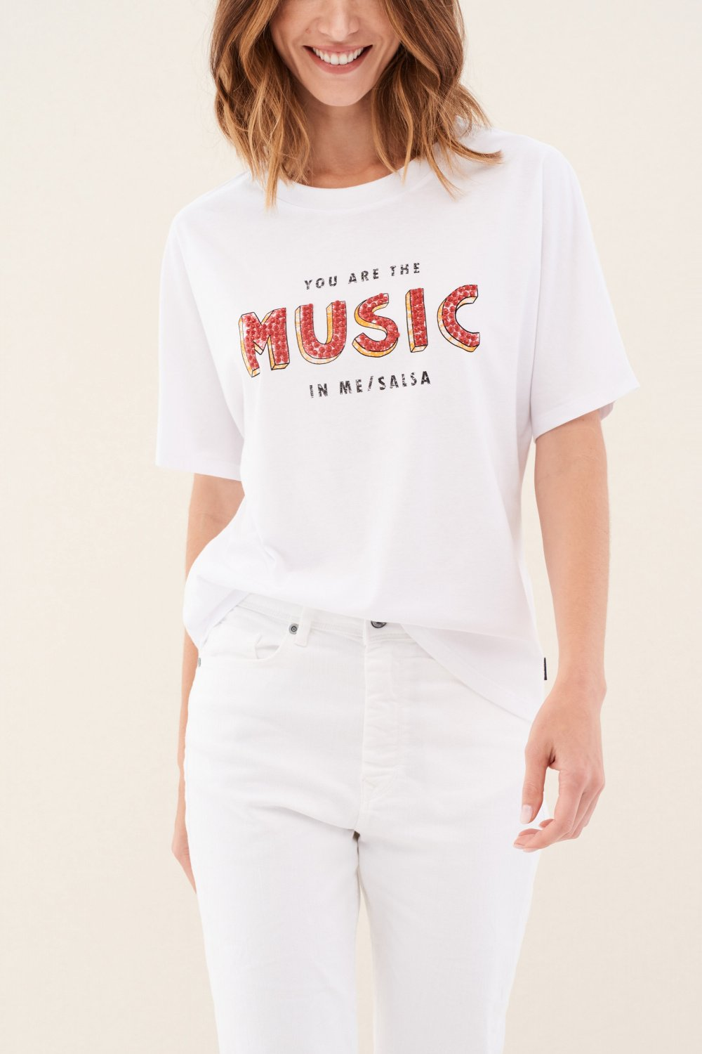 Camiseta estampado Music - Salsa
