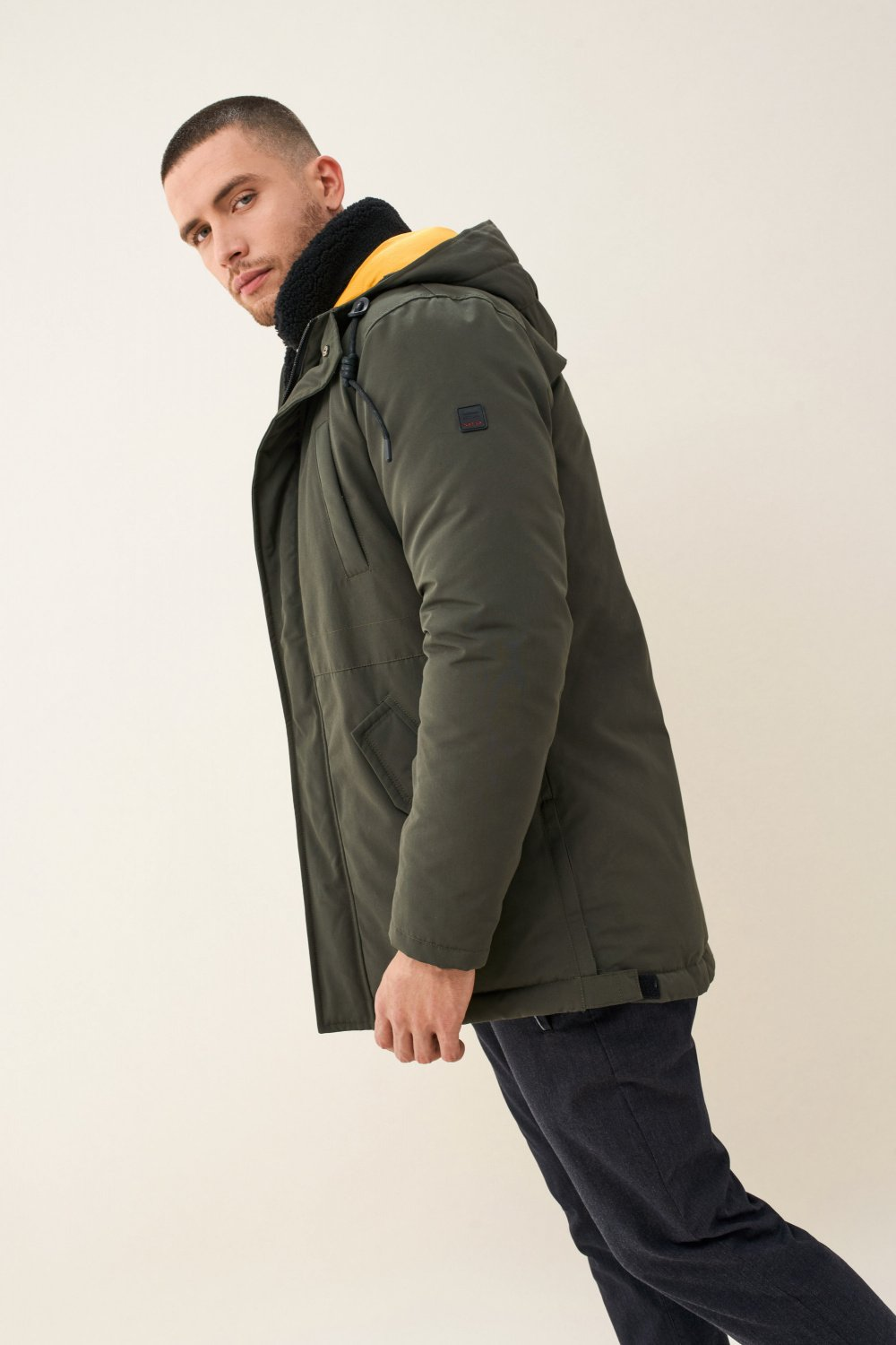 Long puffer coat - Salsa