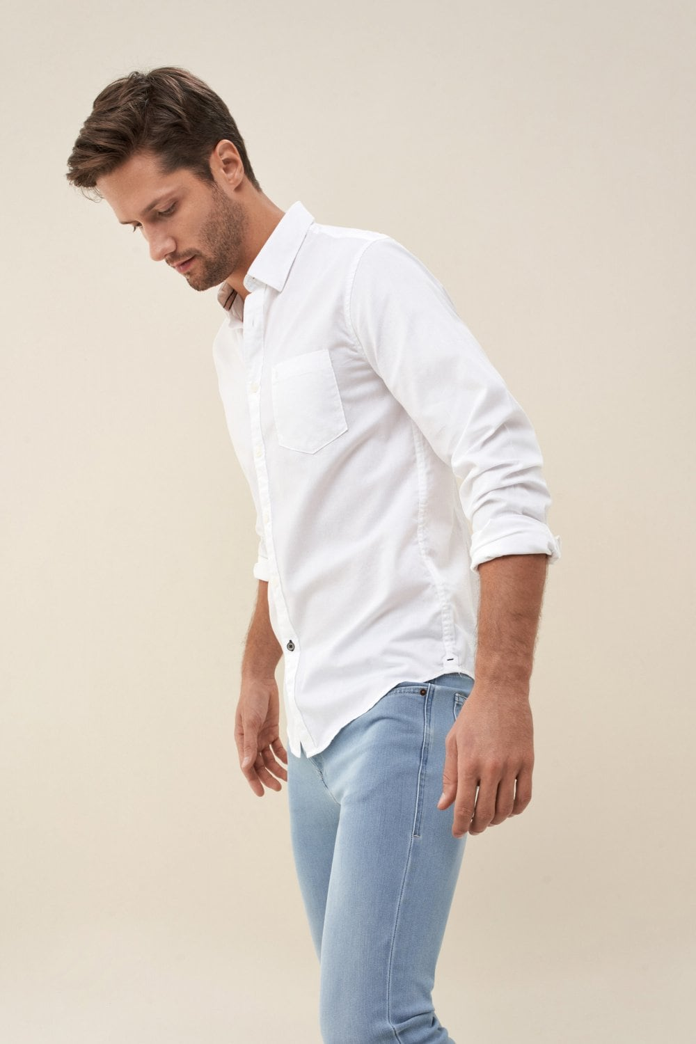 Slim fit cotton shirt - Salsa