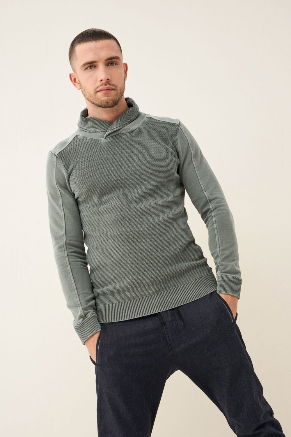 High-neck sweater - Salsa