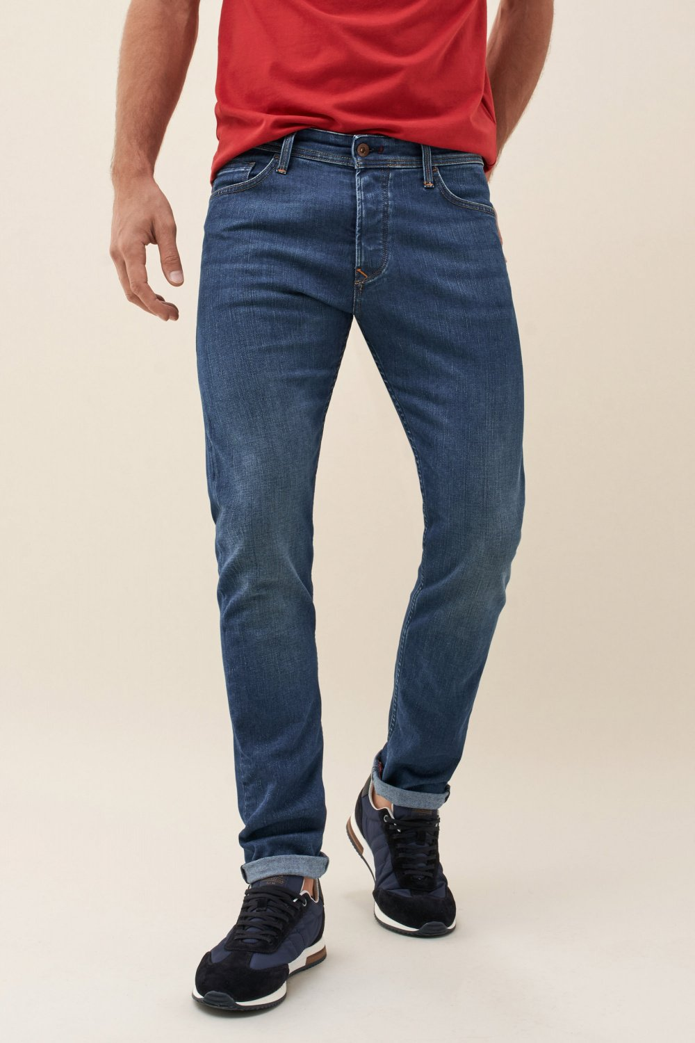Slender slim carrot coolmax medium jeans - Salsa