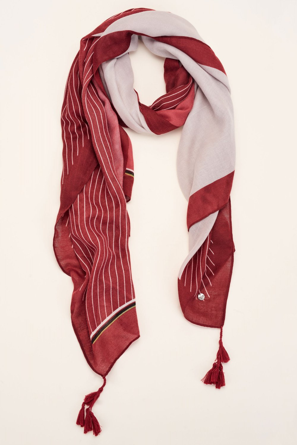 Scarf with tassels - Salsa