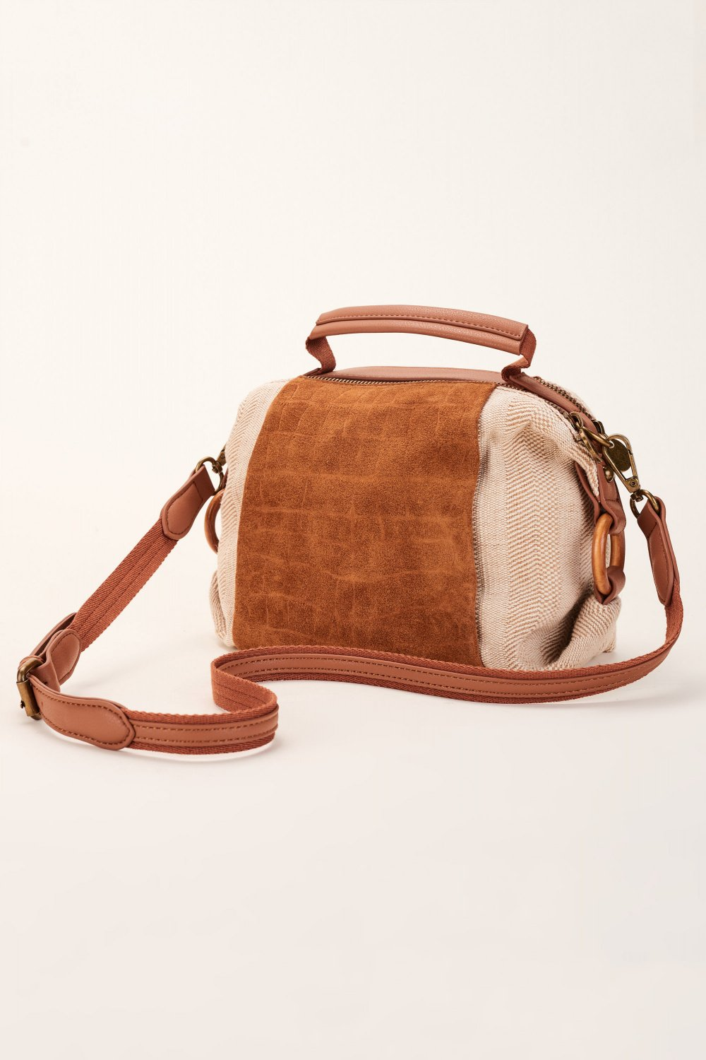 Bag with leather detail - Salsa