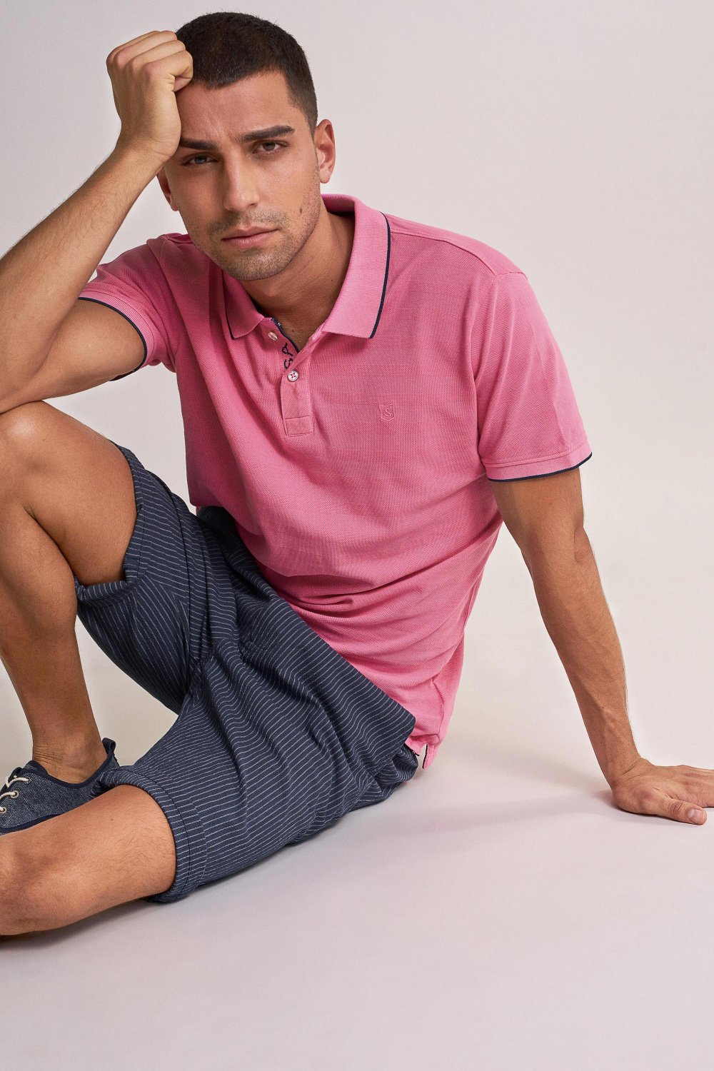 Polo regular fit en coton - Salsa
