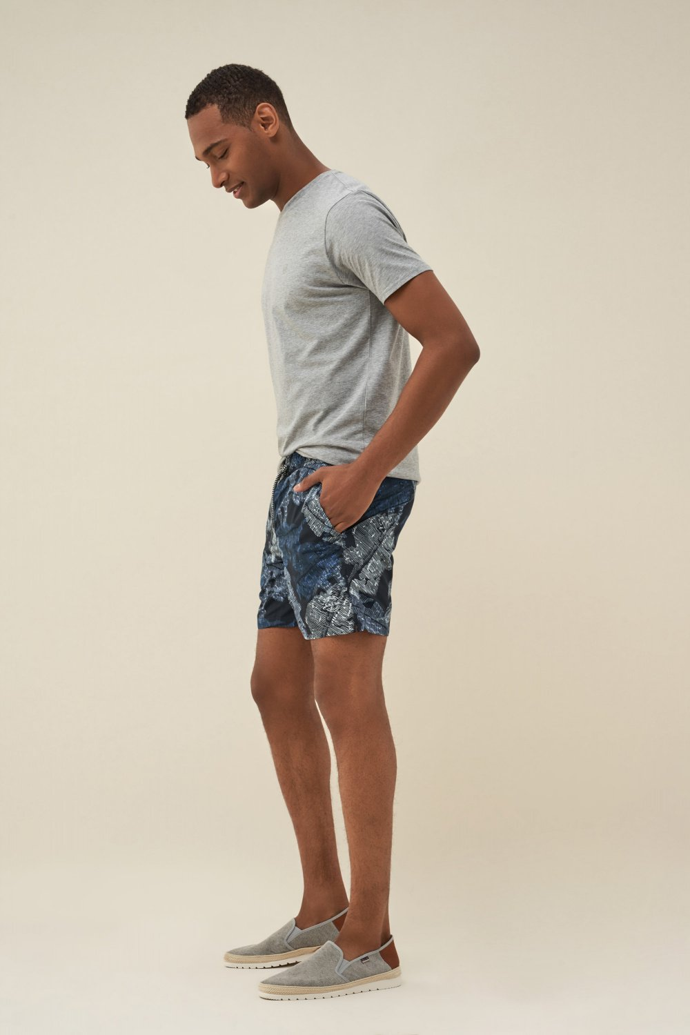 Swimming shorts with print - Salsa
