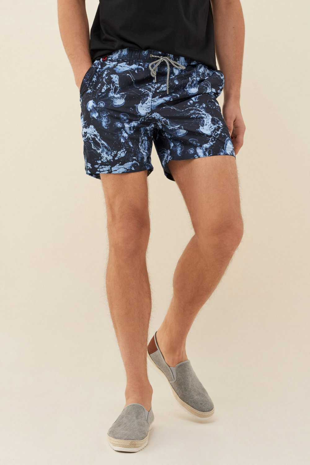 Swimming shorts with jellyfish print - Salsa