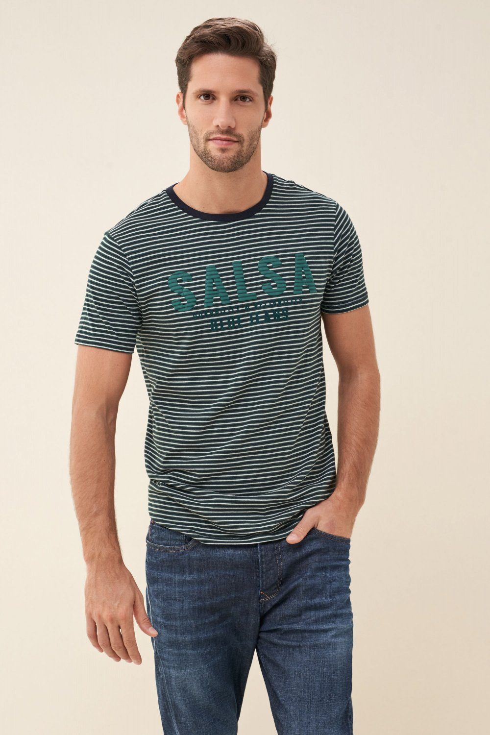Camiseta logo con relieve - Salsa
