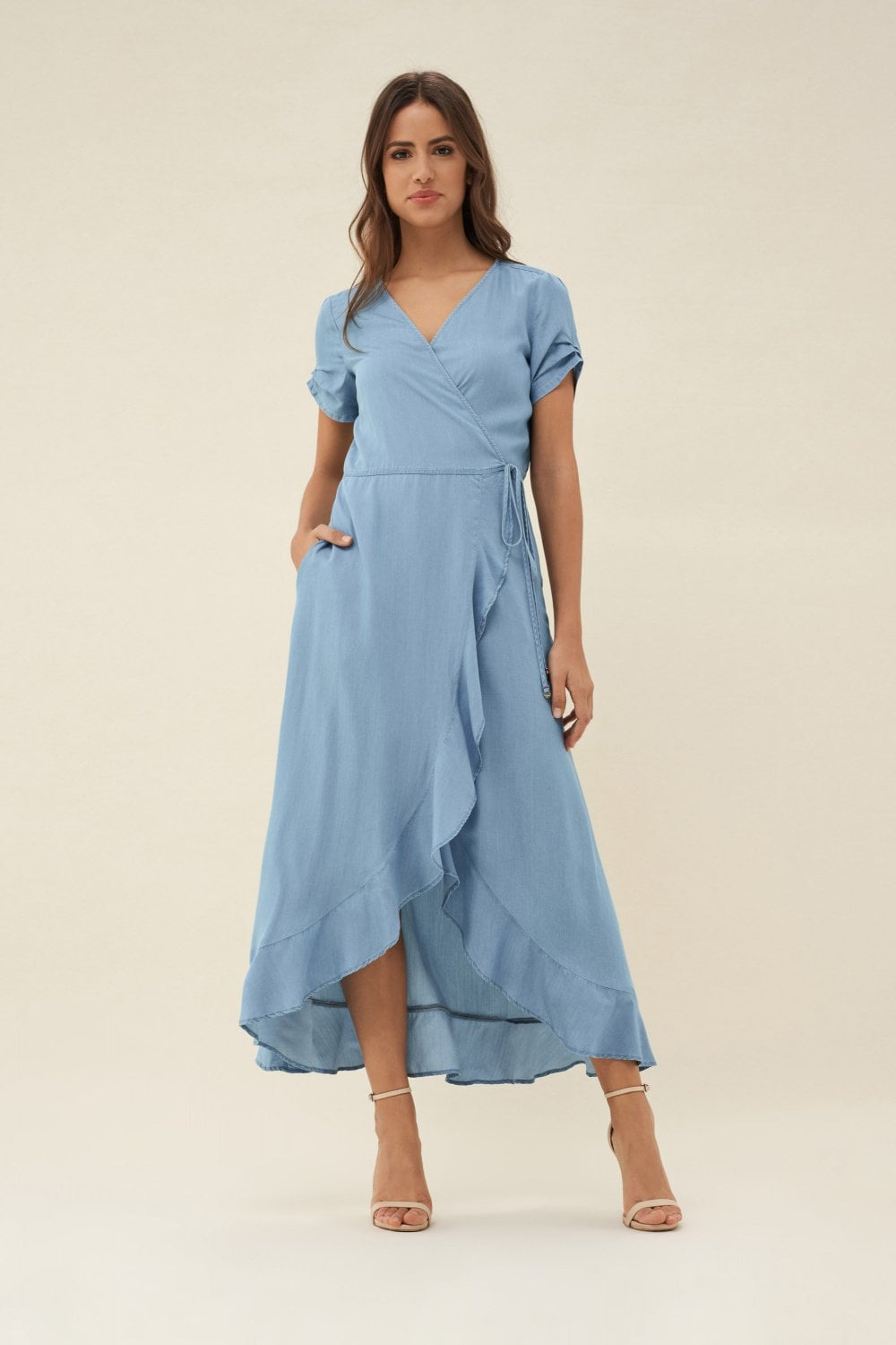 Dress with pleats - Salsa