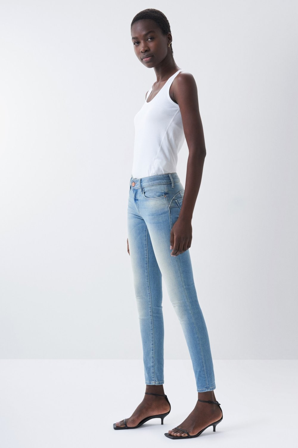 Push Up Wonder skinny jeans - Salsa