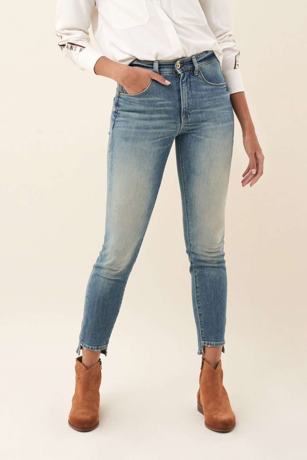 Push In Secret Glamour capri light jeans - Salsa