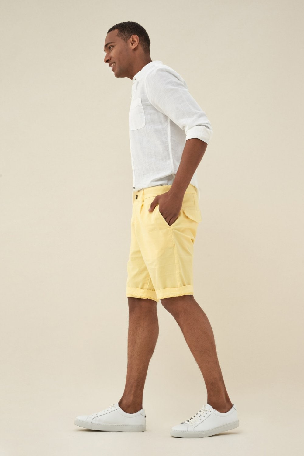 Brandon loose cotton shorts - Salsa