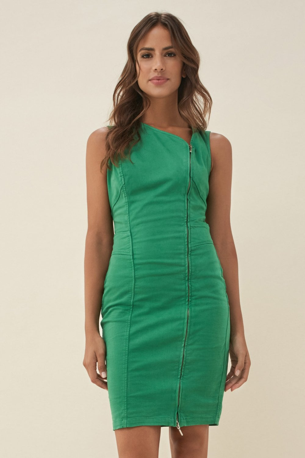 Kleid Push In, asymmetrisch - Salsa