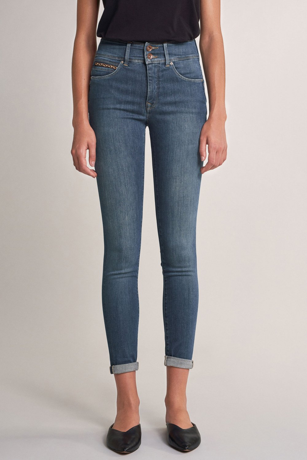 Push In Secret skinny jeans with detail on pocket - Salsa