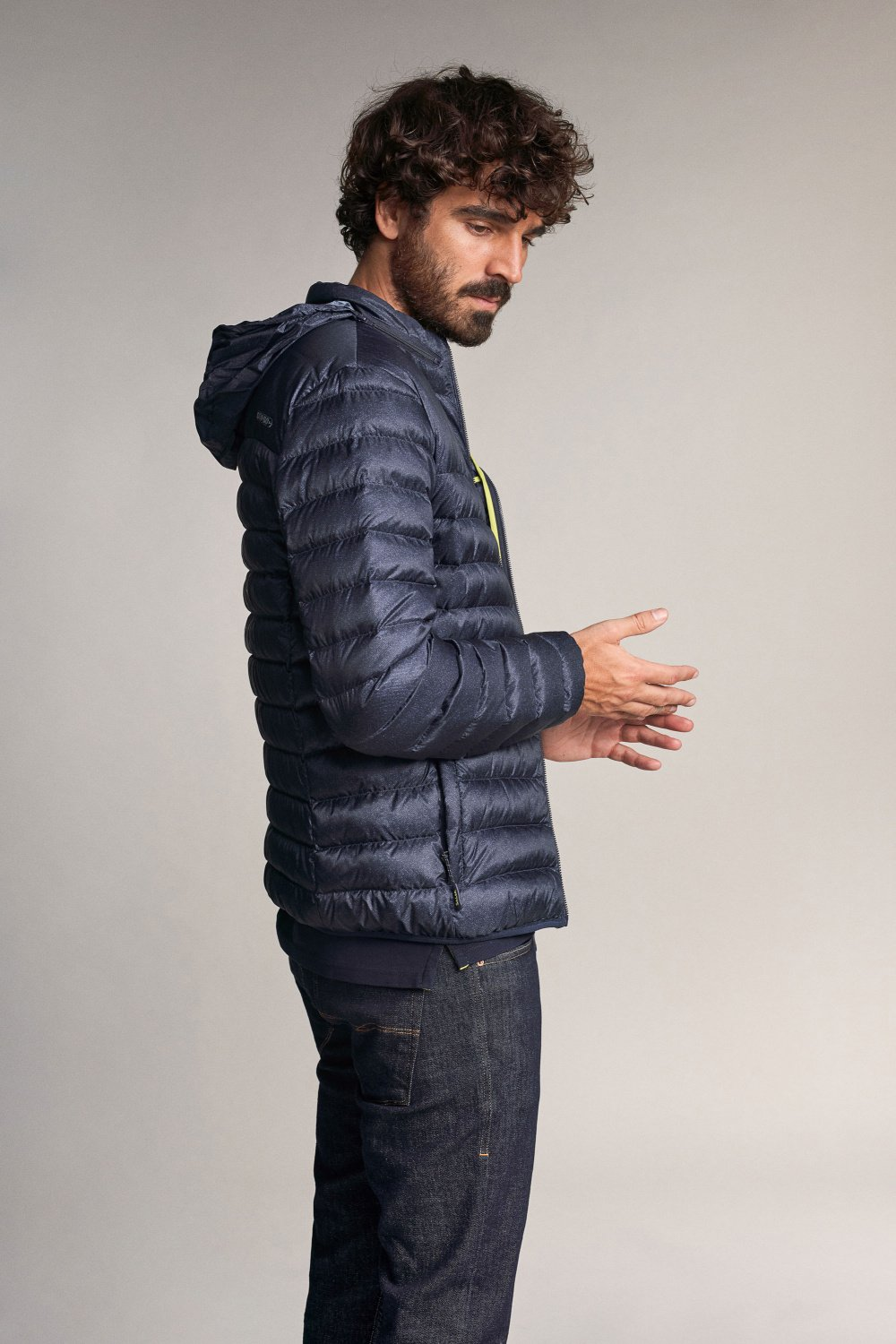 Ultralight waterproof Denim2GO anorak - Salsa