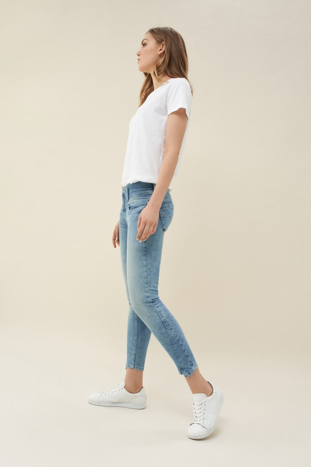 Mystery Push Up capri jeans - Salsa