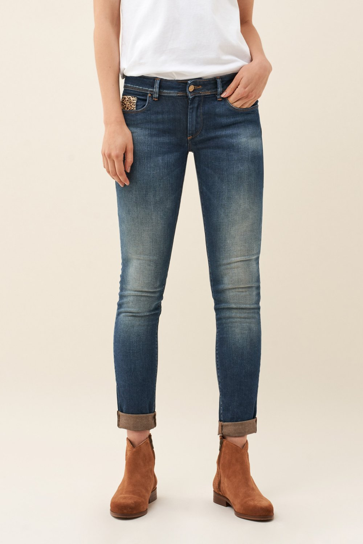 SALSA JEANS WONDER PUSH UP SKINNY soft touch Damen Five Pocket Jeans 116422.8502
