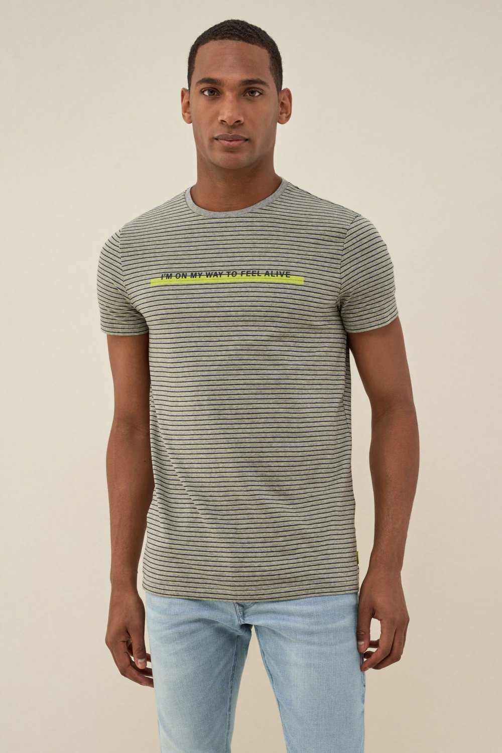 Camiseta dry denim2GO - Salsa