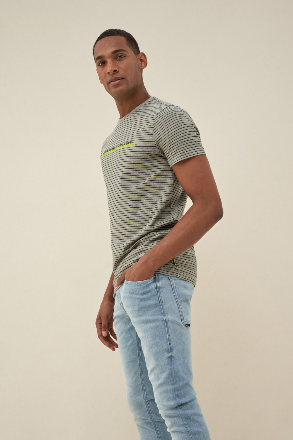 Dry denim2GO t-shirt - Salsa