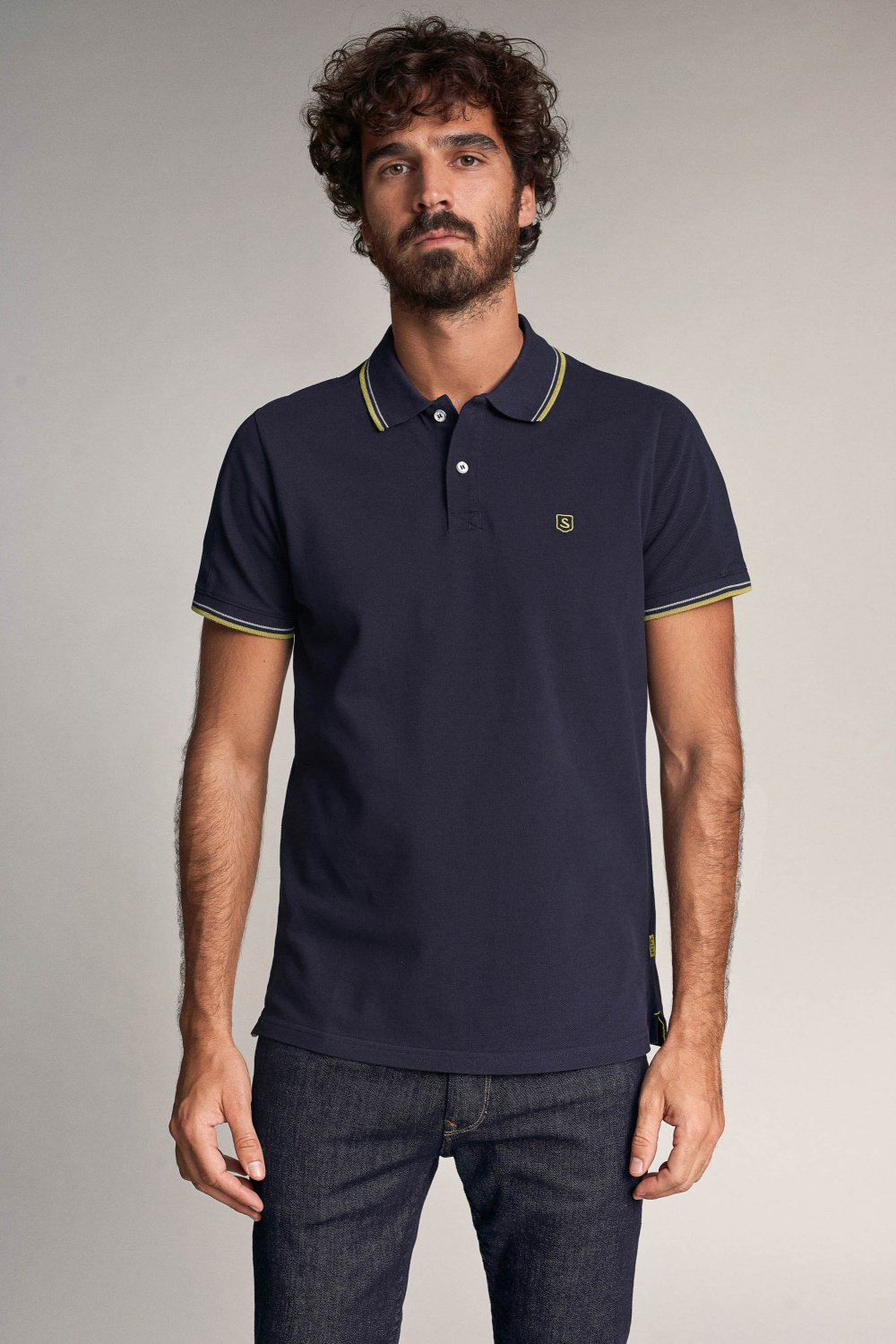 Polo slim fit Denim2GO - Salsa