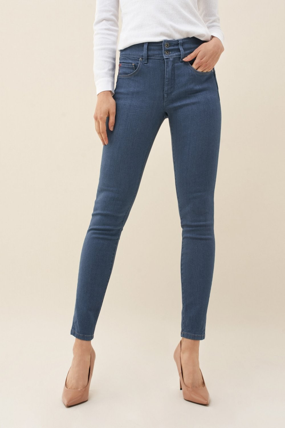Push In Secret skinny jeans - Salsa