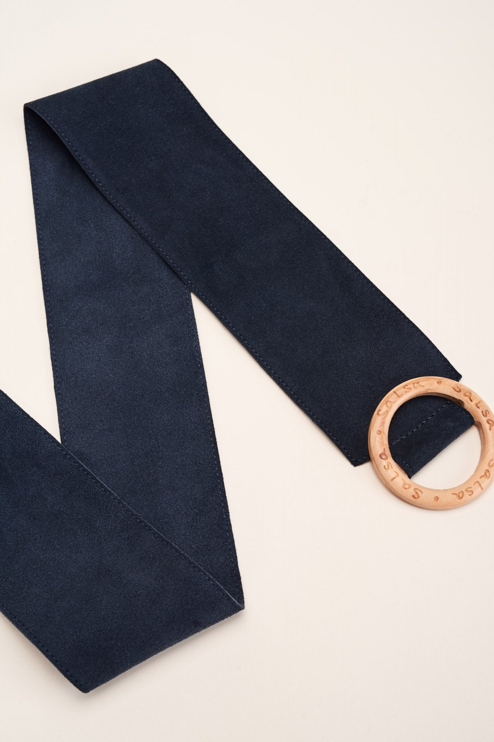 Adjustable suede belt - Salsa