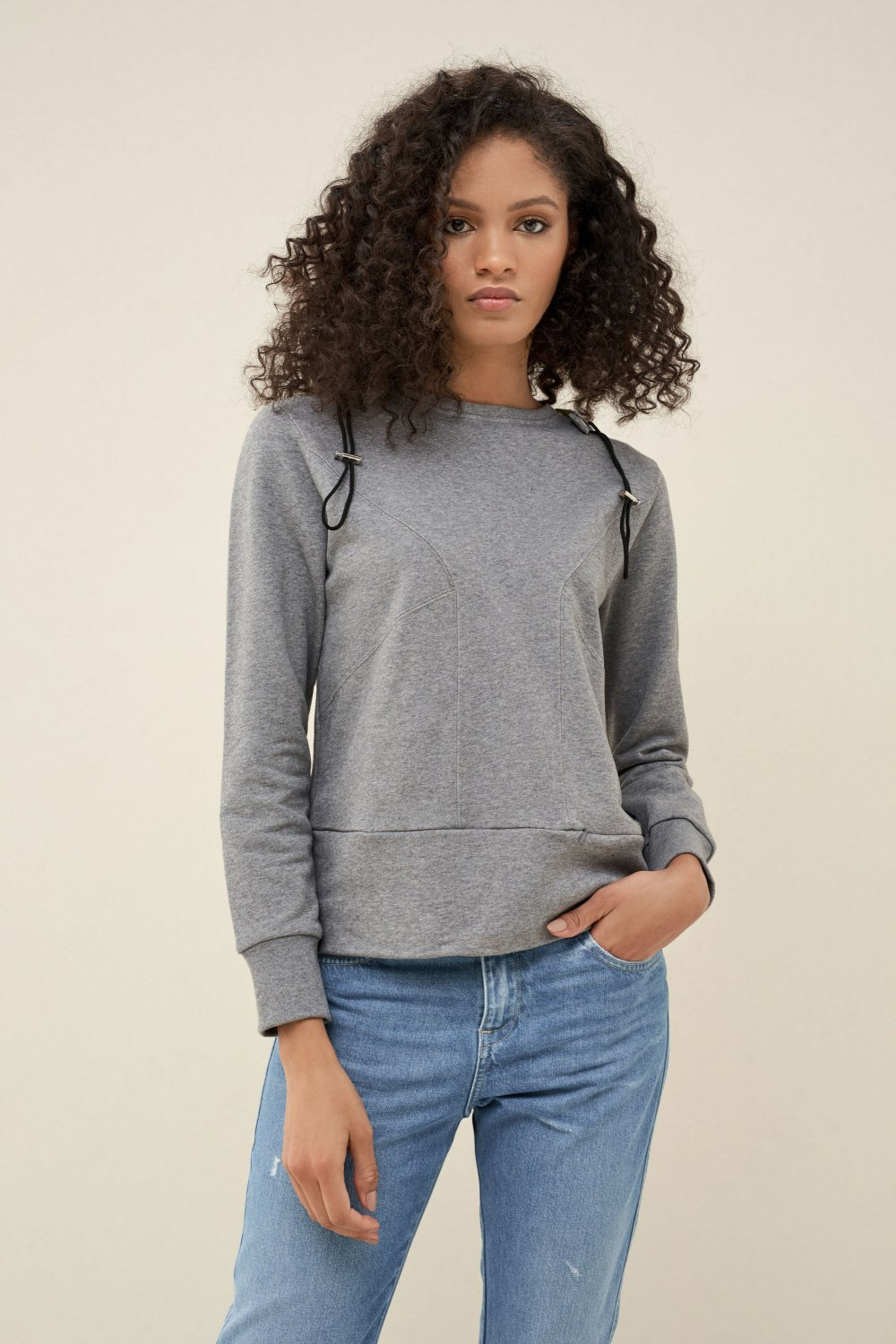 Travel sweater Denim2Go - Salsa
