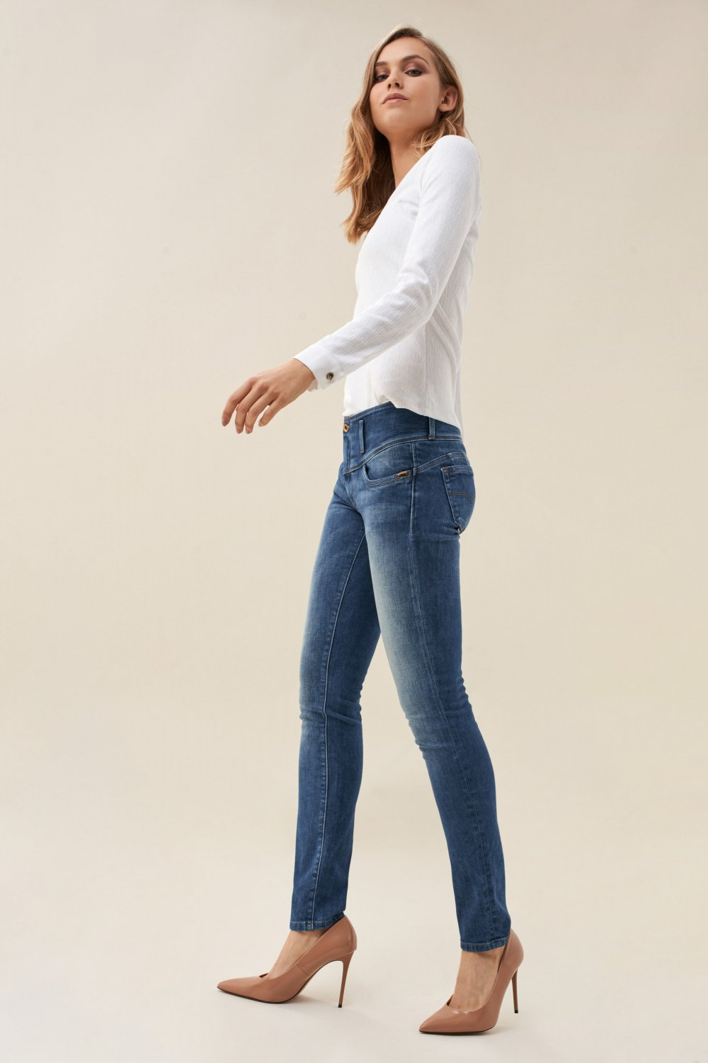 Jeans Mystery Push Up slim - Salsa