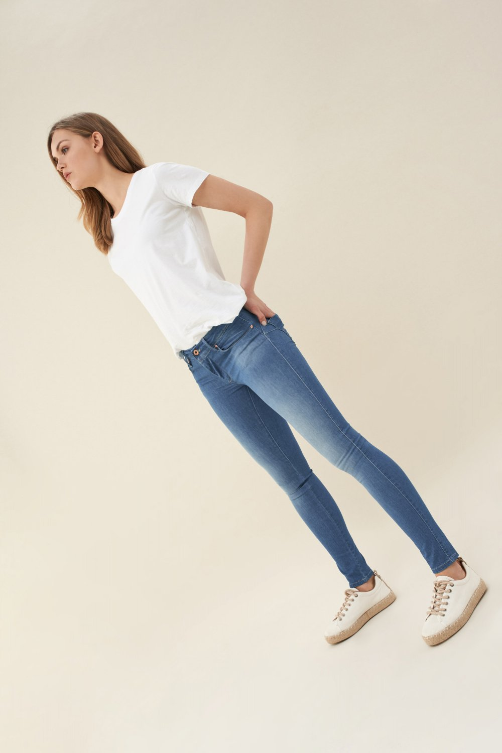 Push Up Wonder skinny coolmax light jeans - Salsa