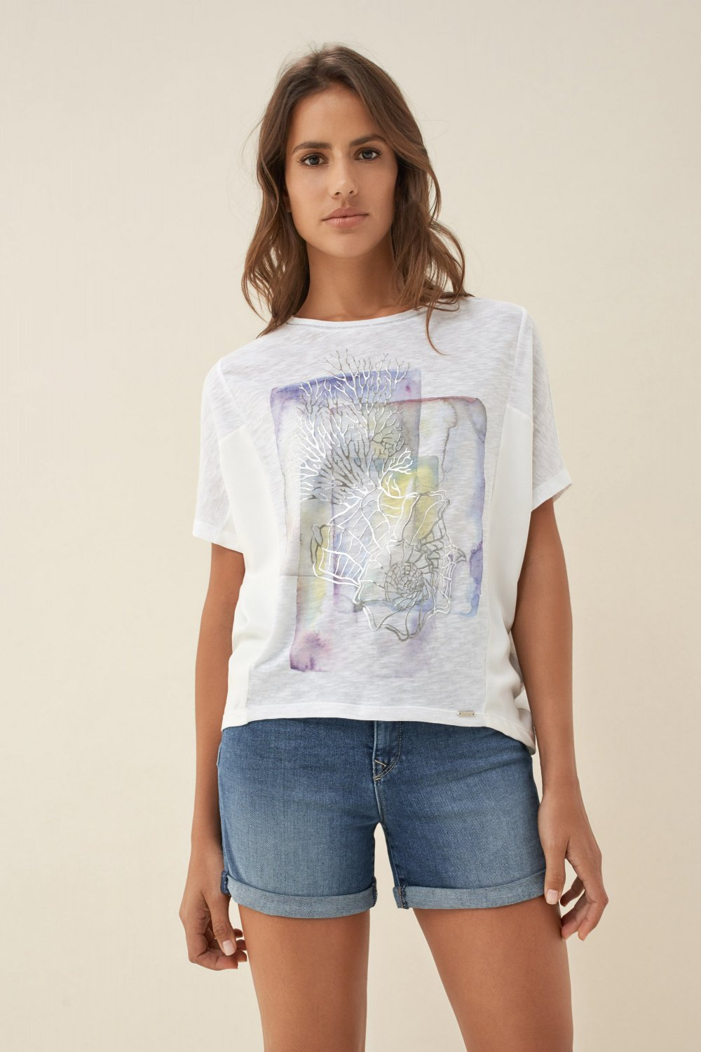 T-shirt with print - Salsa