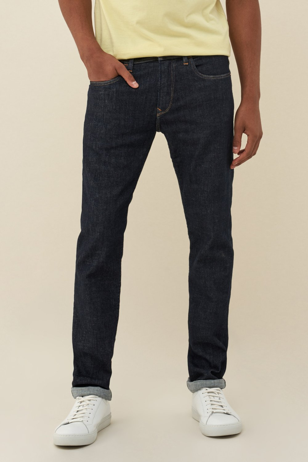 Vaqueros Andy slim Denim2GO - Salsa
