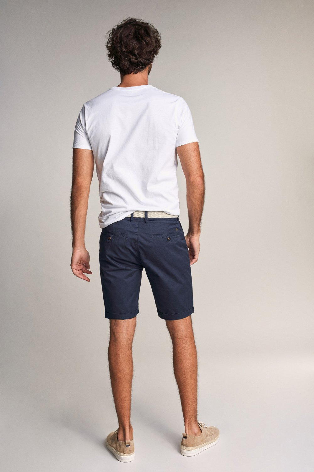 Brandon loose shorts with belt - Salsa
