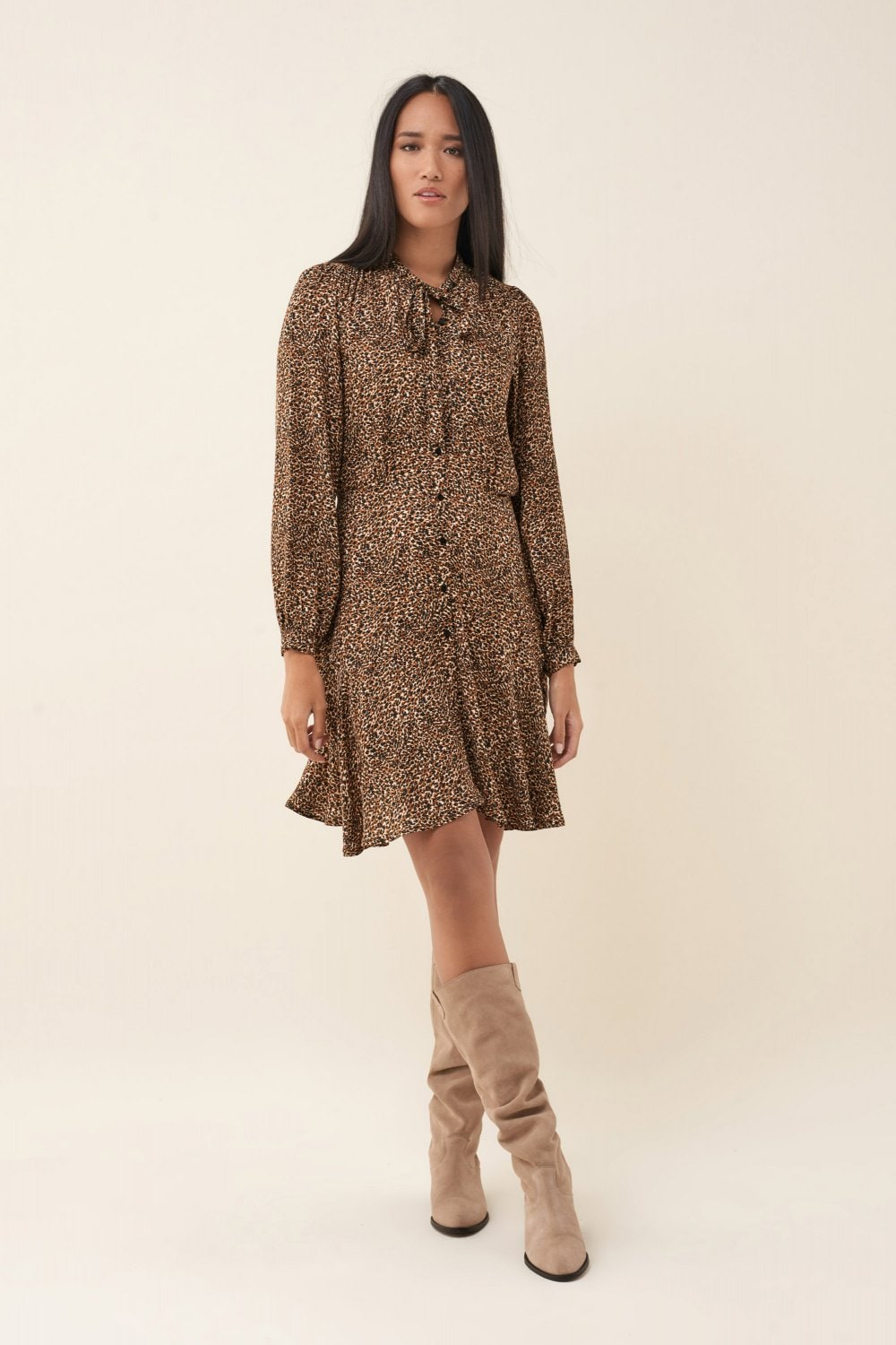 Leopard print dress - Salsa