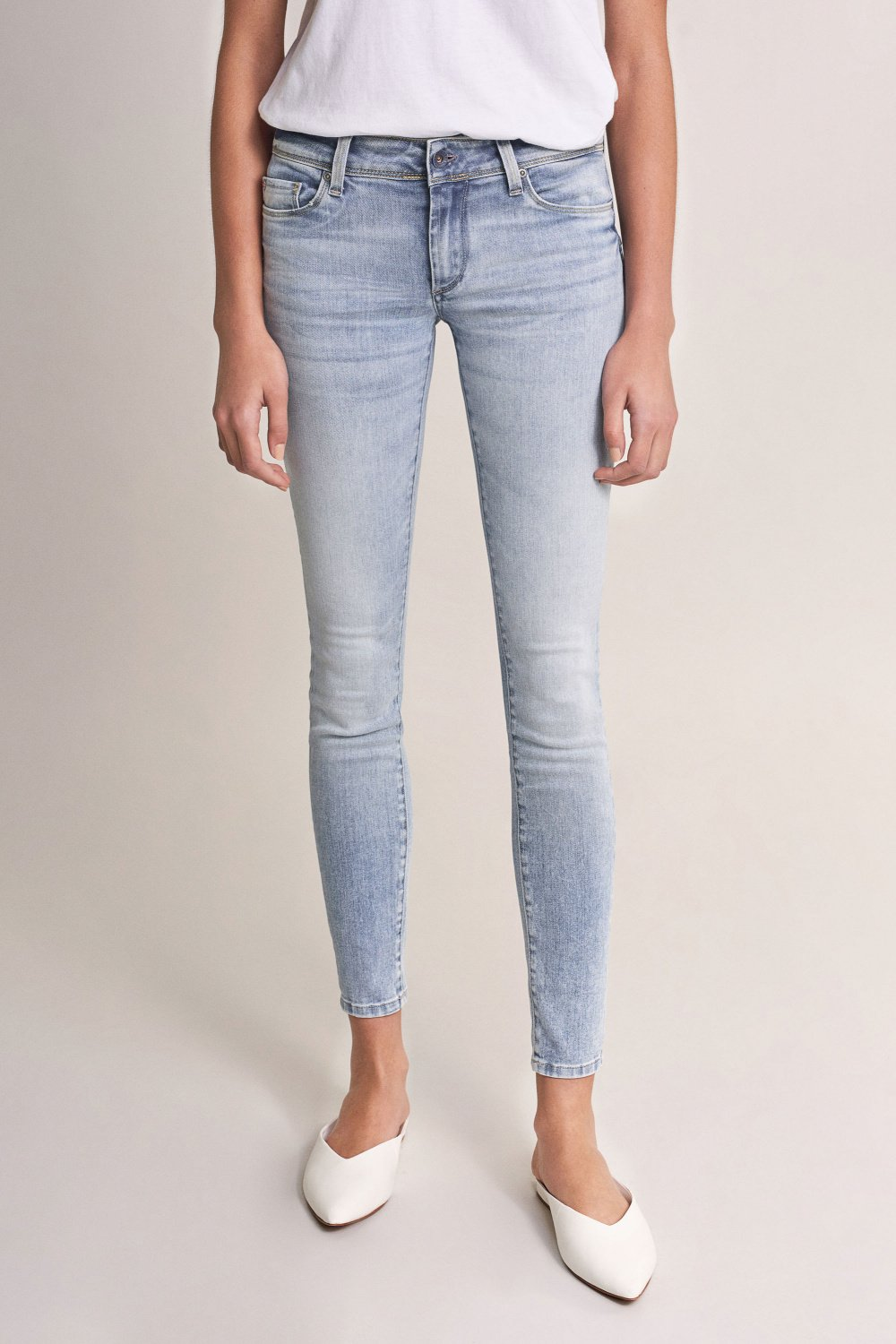 Push Up Wonder skinny light jeans - Salsa