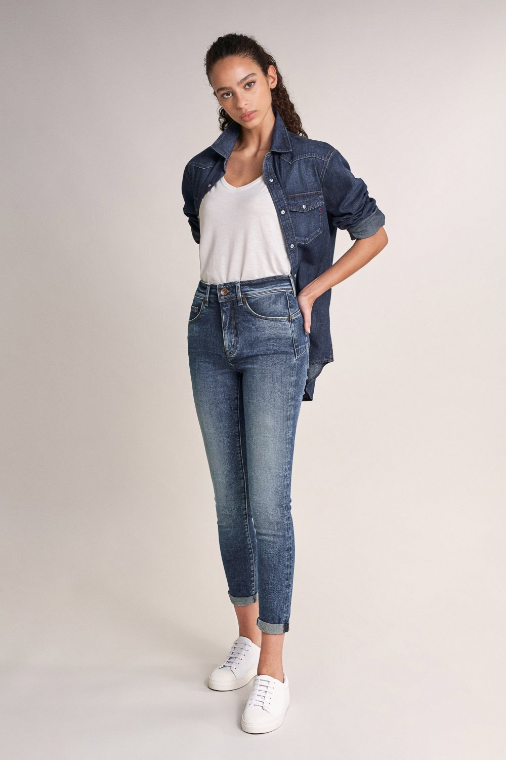 Push In Secret Glamour skinny jeans - Salsa
