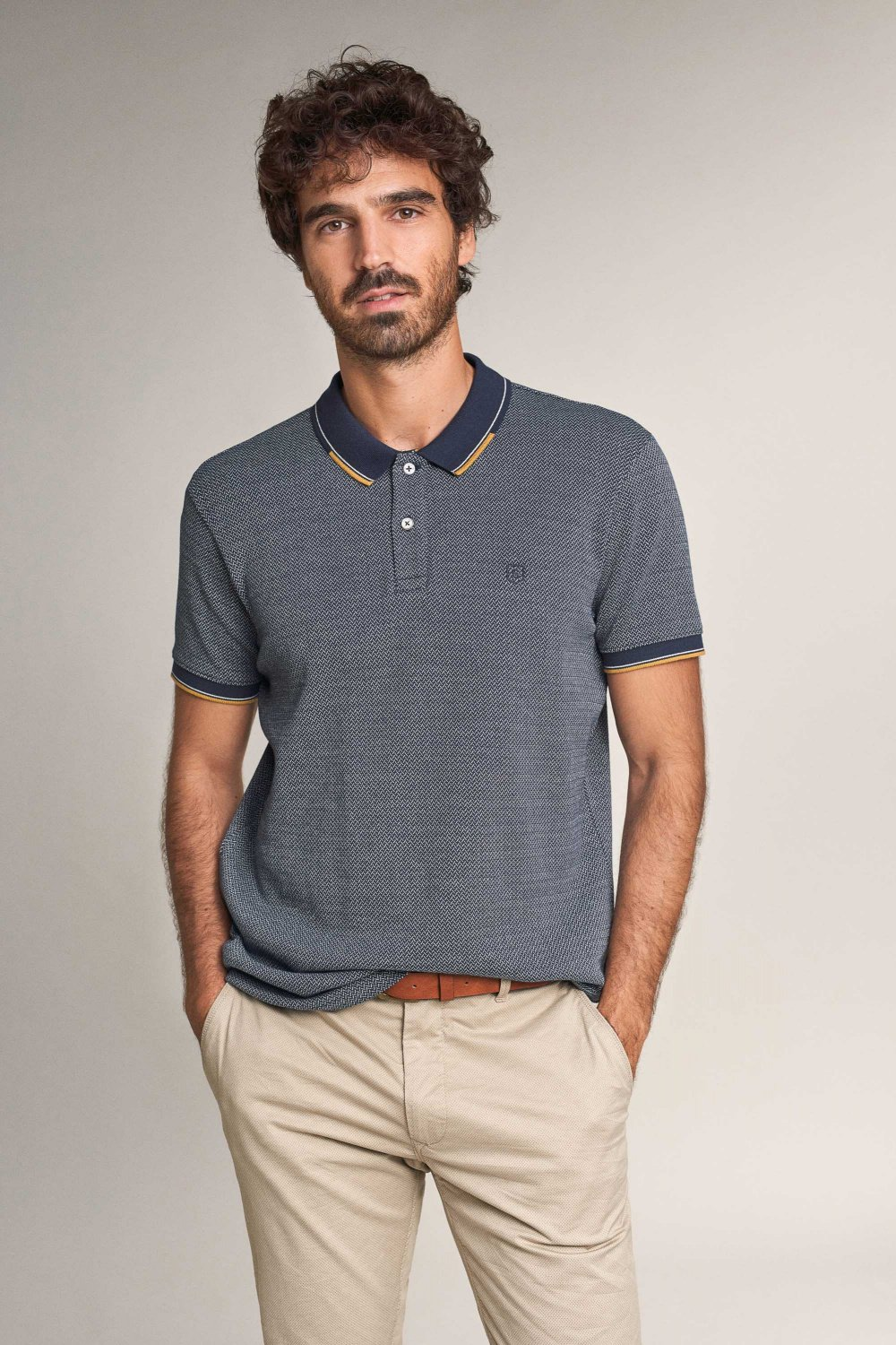 Polo regular fit a righe - Salsa